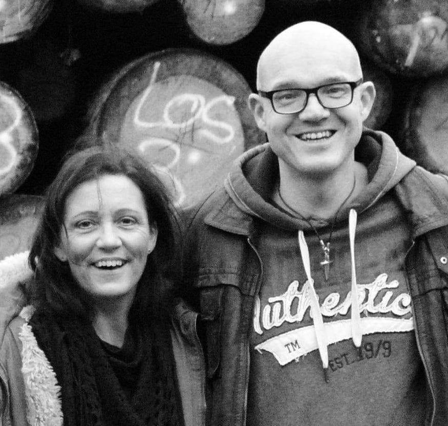 Gehen seit vielen Jahren gemeinsam durch dick und dünn: Claudia und Volker Halfmann.